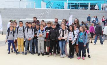 Classe de l'école Jean Macé d'Etaples lors de la visite de Nausicaa